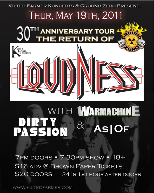 Loudness flyer