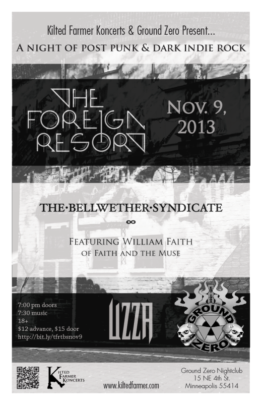 flyer for the foreign resort and the bellwether syndicate